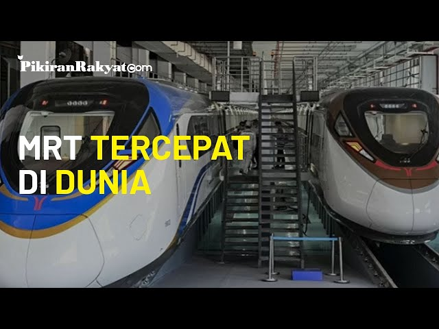 Tiongkok Punya MRT Tercepat di Dunia, Melaju hingga 160 Kilometer per Jam