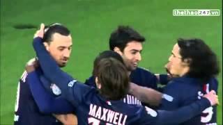 VIDEO  Ibrahimovic kiến tạo đẳng cấp theo phong cách lốp bóng