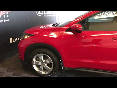 Red 2016 Honda HR-V EX-L Review Edmonton Alberta - Lexus of Edmonton