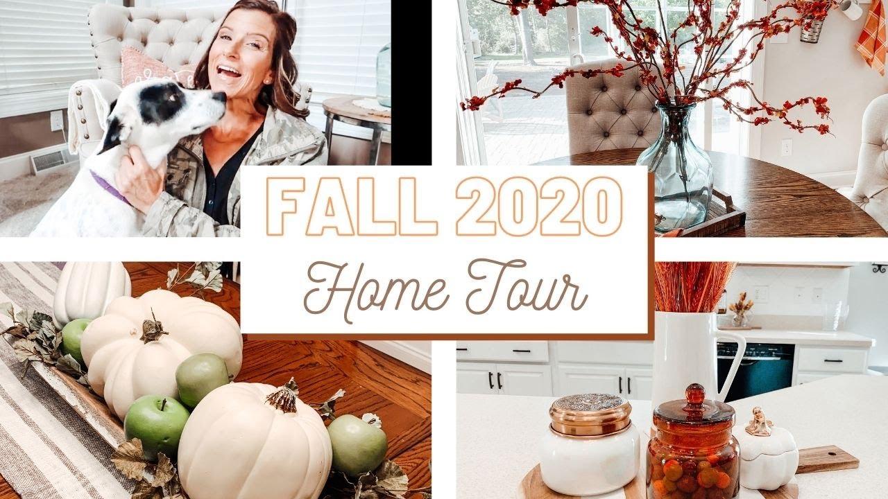 COZY FALL HOME TOUR 2020 | COZY FARMHOUSE DECORATING IDEAS