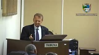 3ª Sessão Ordinária - Vereador Pinatto