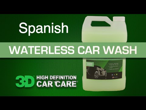 3D WATERLESS CARWASH LAVADO DE AUTOS SIN AGUA 3D ESPAÑOL