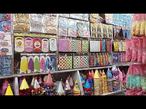 Birthday Decoration Items and Themes | Function and Party Supplies – Wholesale Prices | Rawalpindi
