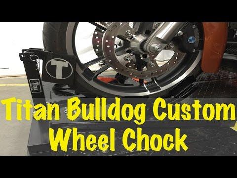 Condor Motorcycle Wheel and Brake Assembly for Cycle Loader 4 Sets Wheel Chock