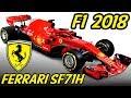 F1 Ferrari SF71H Analysis - Lets Talk F1 2018