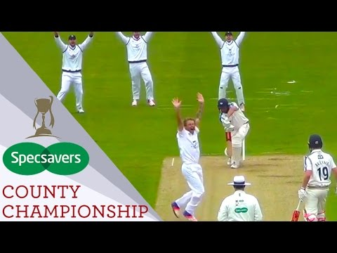 Hampshire's thrilling win over Yorkshire at Headingley - Specsavers County Championship 2017