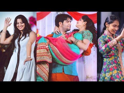 Singer Raghuram Divya Sangeet Photos | Nandu, Geetha Madhuri, Deepu, Revanth, Damini , Anjana Sowmya thumbnail