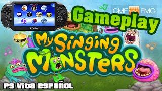 Gameplay My Singing Monsters Ps Vita   Ps Vita ESPAÑOL