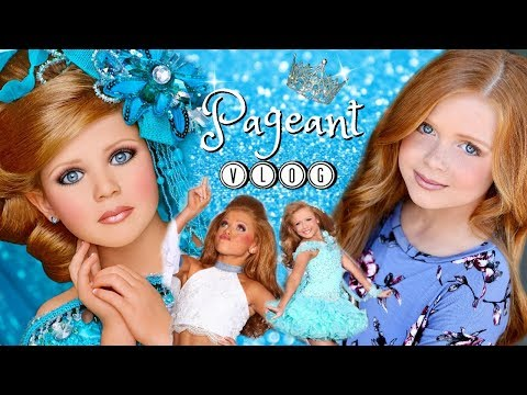 PAGEANT VLOG   GLITZ PAGEANTS   HOW WE PREP..HAIR/MAKEUP..STAGE TIME..CROWNING👑