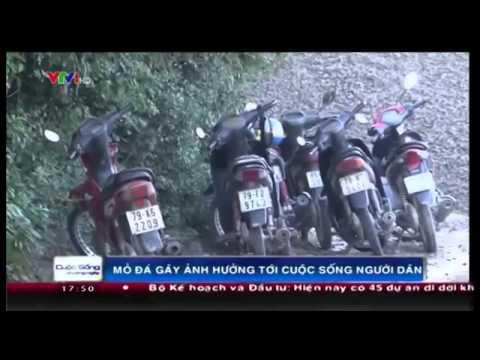 Khai thác đá ở Núi Sầm, Ninh Giang, Ninh Hòa, Khánh Hòa ảnh hưởng nghiêm trọng tới đời sống của dân