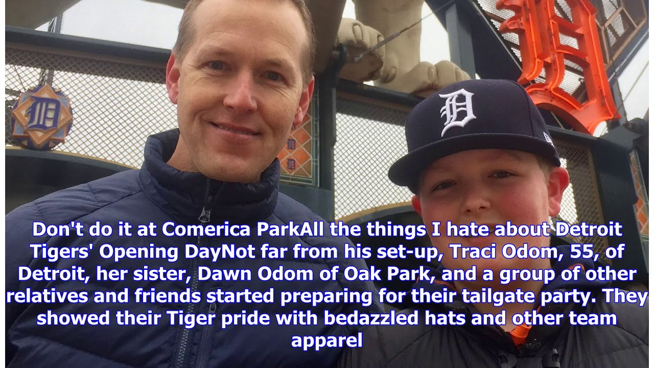 On Tigers' Opening Day, Michiganders make new memories and recall old ones