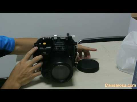 Canon 70D Underwater Housing Connect Fisheye Dome