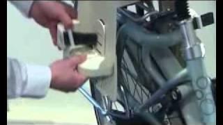 Fietsstoeltje Bobike Maxi Tour Montage Handleiding  (Bike Seat instructions)