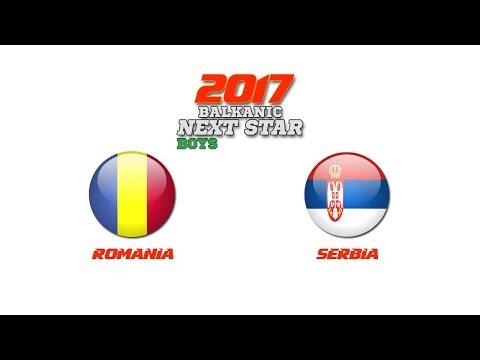 BALKANIC NEXT STAR 2017: Romania - Serbia