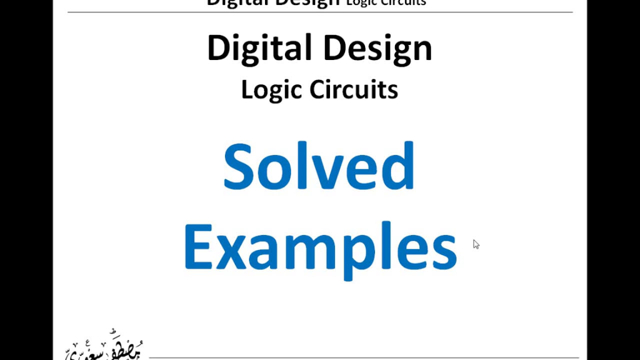 Sequential Logic Circuit Diagram Starting Know About Wiring Circuits Solved Examples On Youtube Rh Com