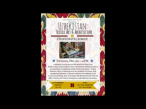 Uzbekistan: Textile Art & Architecture