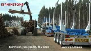 Elphinstone Easyloader B-Double Logging Trailer