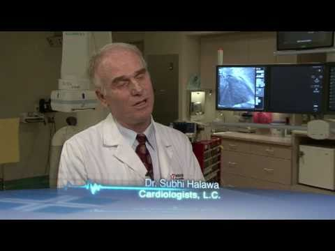 Heart attack leads to stent video