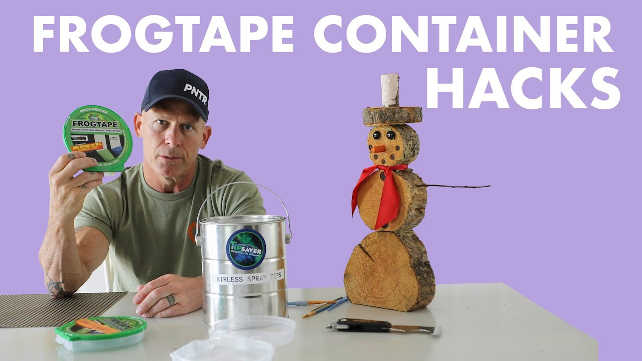 PLASTIC Nightmare!  /  FrogTape Containers!