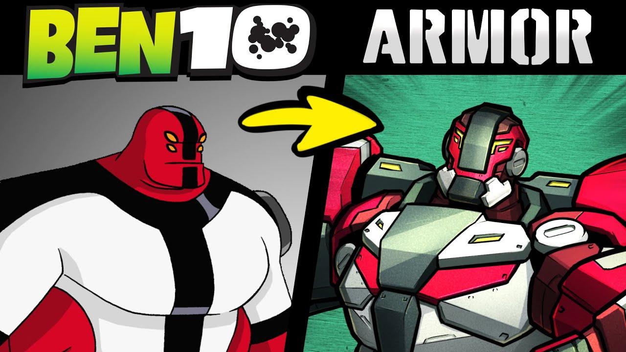 What if BEN 10 ALIENS Were MECH ARMORS?! (Stories & Speedpaint)