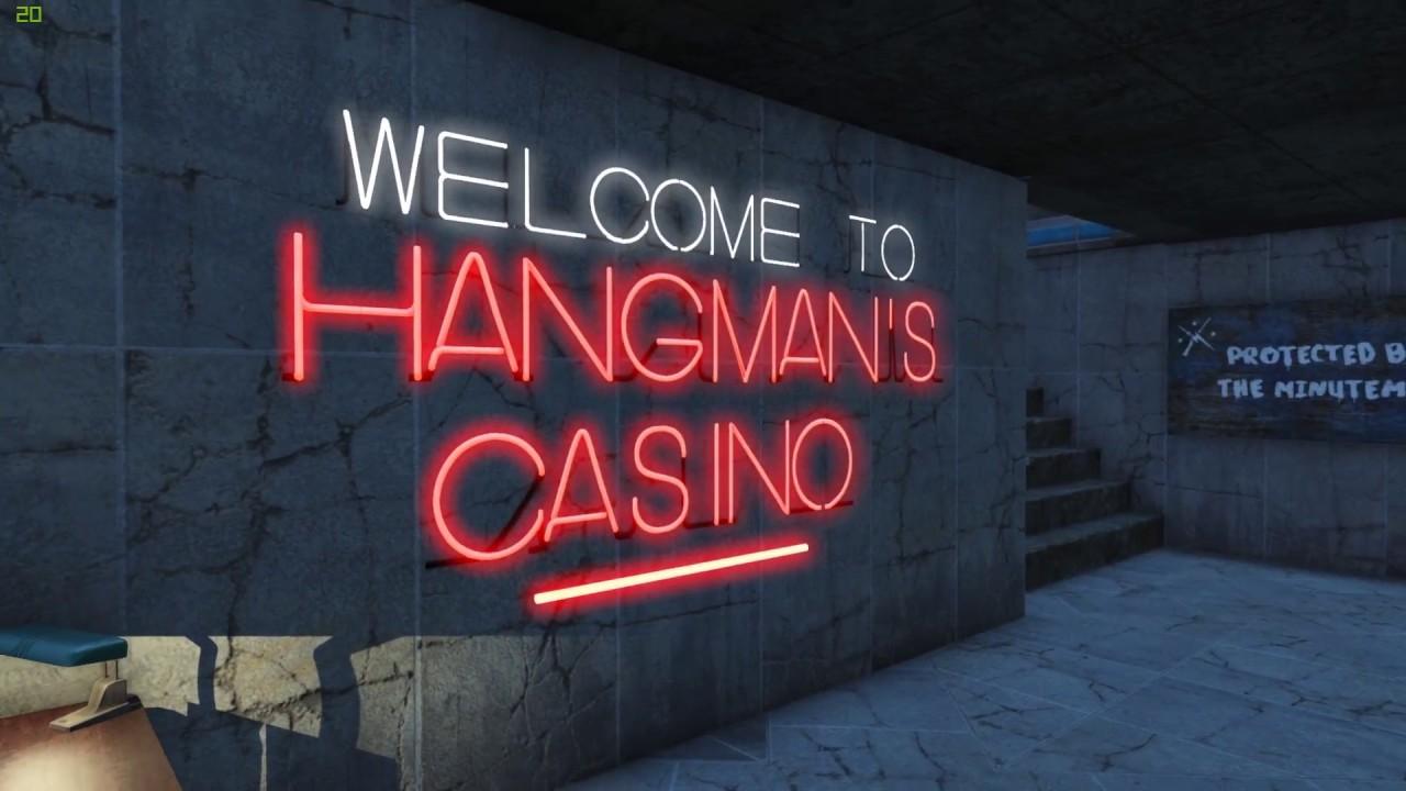Fallout 4 - REALISTIC SETTLEMENT TOUR - Hangman's Alley Casino & Hotel