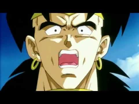 Broly Turns The Legendary Super Saiyan