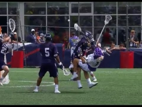 Biggest Hits and Best Defensive Plays from the 2018 NCAA Lacrosse Playoffs