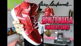 آلان MUKENDI - المشي معي - كيفية جعل زوج من أحذية رياضية #5