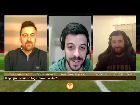 SL BENFICA 0-0 TONDELA (EM DIRETO) - Liga Nos Jornada 25 RELATO from YouTube · Duration:  4 hours 9 minutes 16 seconds