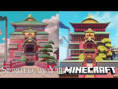 Spirited Away In Minecraft Tour (The Entire Movie)