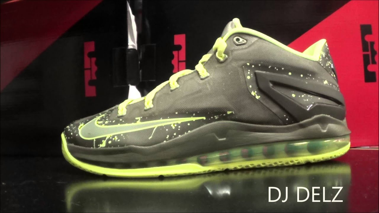 88aa6bcf00c6 Nike Lebron 11 Low Dunkman Sneaker Review With Dj Delz  DjDelz - YouTube