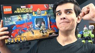 LEGO Тор Рагнарёк: ХАЛК ПРОТИВ ТОРА - Набор На Обзор (76088)