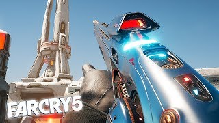 LOST ON MARS WEAPONS ADDED! Far Cry 5 Lost on Mars DLC Weapons Showcase!