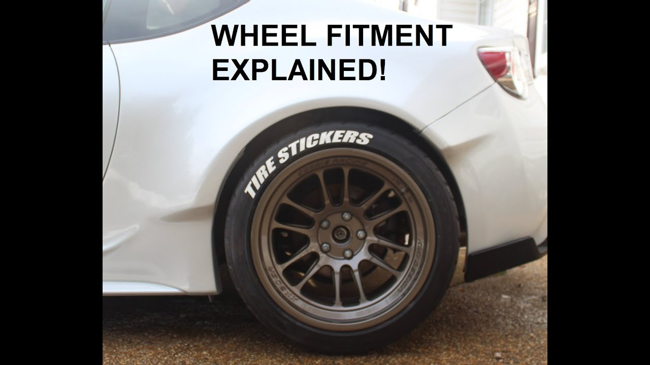 rocket bunny wheel fitment explained in detail brz frs. Black Bedroom Furniture Sets. Home Design Ideas