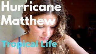 (Ep.2) Hurricane Matthew - Category 4 headed straight for us