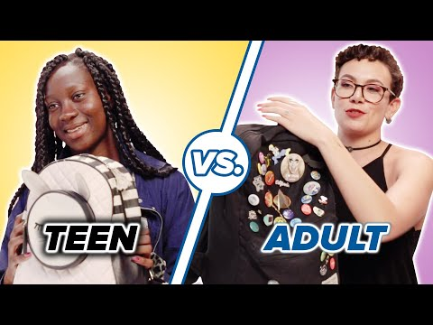 Teen Vs. Adult What's In My Bag • Megan