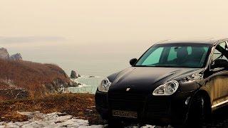 Тест-Драйв Porsche Cayenne 955 (450 л.с.) по бездорожью (часть1)