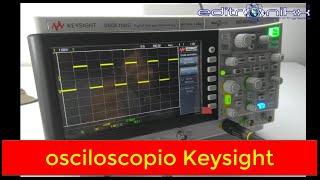 Osciloscopio Keysight  DSO1102G perfecto para diseño ELECTRONICO y REPARACION