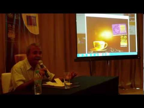 9 / 10   India International Coffee Festival 2014 press briefing   Ramesh P  Rajah