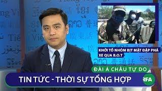 Tin nóng 24h 19/02/2019   Khởi tố nhóm bịt mặt đập phá xe qua BOT