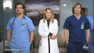Grey's Anatomy 15x06 Meredith Deluca and Link  - A Love Triangle In the Making? Jo as a Matchmaker