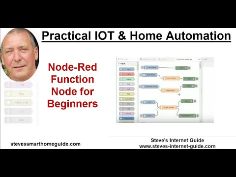Using the Node-Red Function Node - Beginners Guide