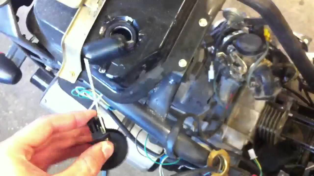 Taotao 50 Wiring Diagram Starter One Way To Fix Non Responsive Stuck Gas Gauge On 50cc Gy6 Youtube