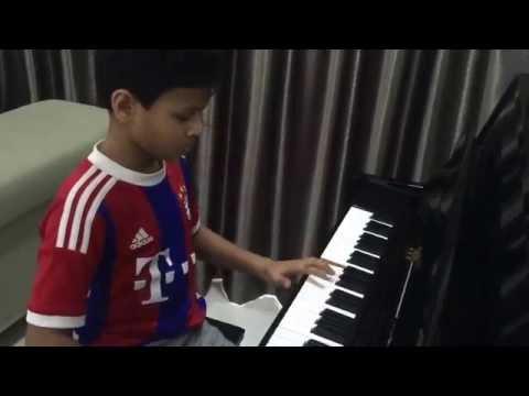 Sun Sathiya (ABCD2) Piano Cover by Tejas Kurmala