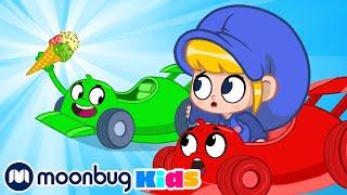 Morphle and Orphle Icecream Race  - My Magic Pet Morphle | Cartoons For Kids | Morphle TV
