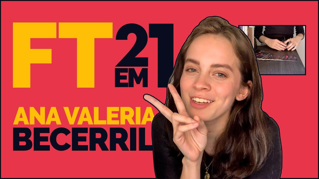 ANA VALERIA BECERRIL fala sobre CONTROL Z e VIDA AMOROSA enquanto constrói um CASTELO DE CARTAS