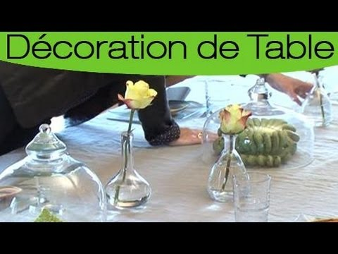 astuces pour d corer parfaitement une table nature youtube. Black Bedroom Furniture Sets. Home Design Ideas