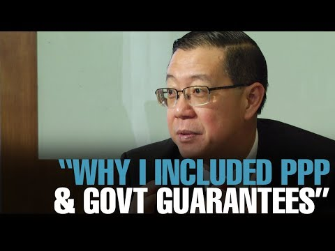 """NEWS: Lim: """"Here's why I included guarantees & PPP"""""""