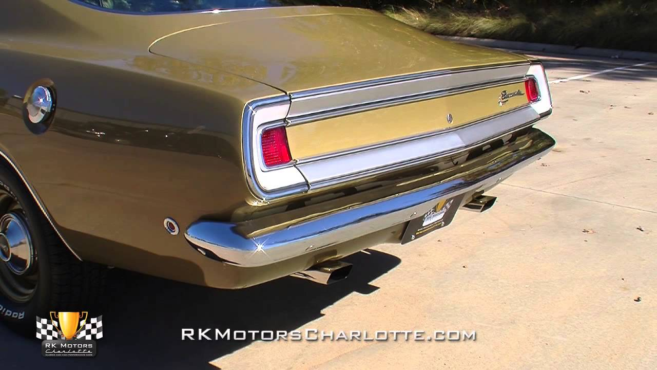 133319 1968 Plymouth Barracuda Formula S