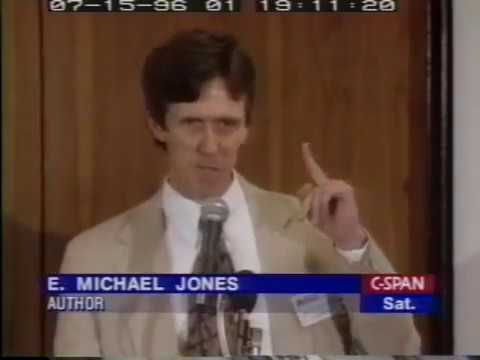 E. Michael Jones talks about colleges, degenerate modern intellectuals, truth. (July 13, 1996)